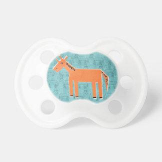 Orange You Unicorn Baby Pacifier