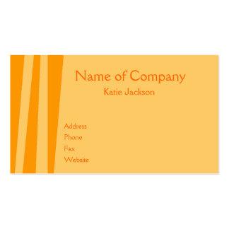 Orange You Wild Business Card Templates