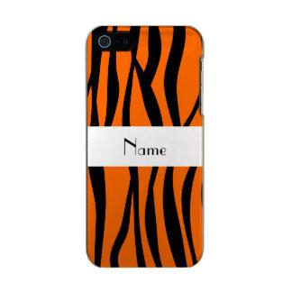 Orange zebra stripes white stripe incipio feather® shine iPhone 5 case