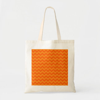 Orange Zigzag Stripes. Tote Bag