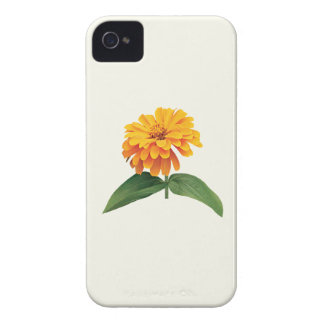 Orange Zinnia iPhone 4 Case-Mate Case