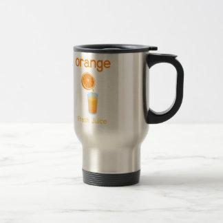 OrangeJuice Stainless Steel Travel Mug
