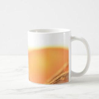 Orangene Frucht Kaffeetasse