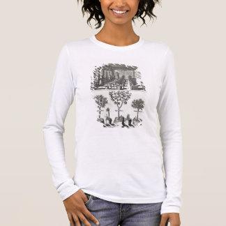 Orangery, from 'De Nederlandze Hesperides' by Jan Long Sleeve T-Shirt