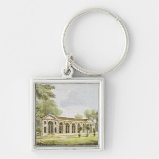 Orangery, Kew Gardens, plate 11 from 'Kew Gardens: Silver-Colored Square Key Ring
