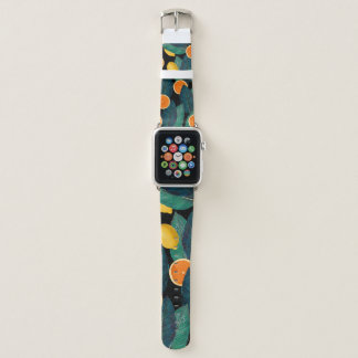 Oranges And Lemons Apple Watch Band