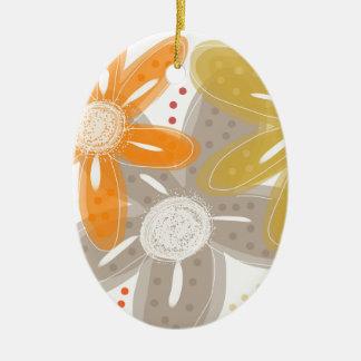 Oranges and Lemons Ceramic Oval Decoration