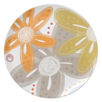 Oranges and Lemons Dinner Plate