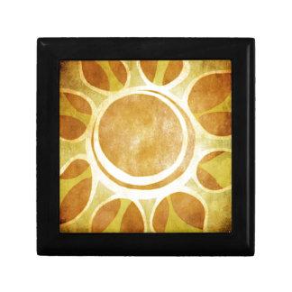 Oranges and Lemons - Golden Sunflower Batik Gift Box