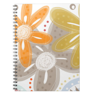 Oranges and Lemons Spiral Note Book