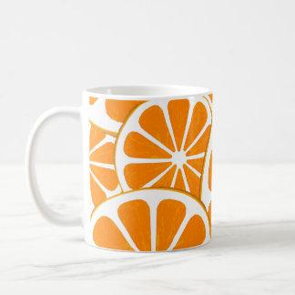 oranges. basic white mug
