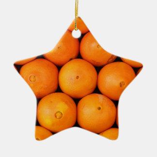 Oranges Christmas Ornament