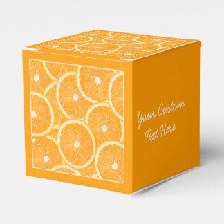 Oranges custom favor box