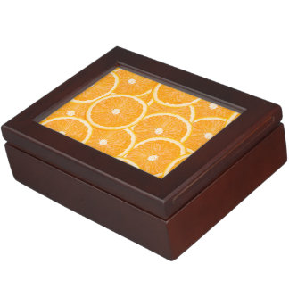 Oranges custom keepsake box