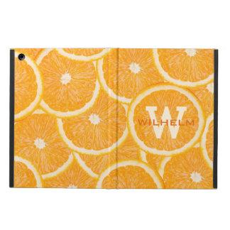 Oranges custom monogram cases