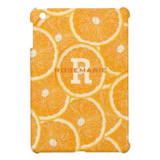 Oranges custom monogram cases iPad mini cover