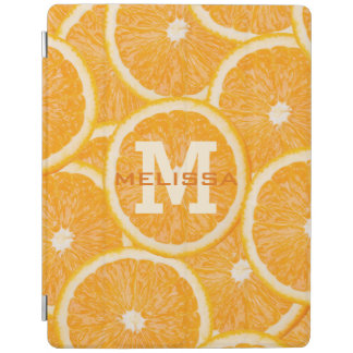 Oranges custom monogram device covers iPad cover