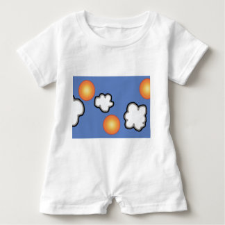 Oranges in The Clouds Baby Romper Baby Bodysuit
