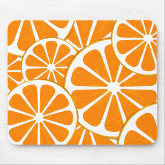 oranges. mouse pads