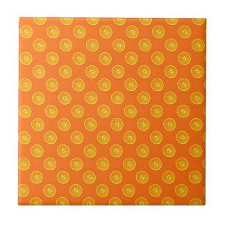 Oranges with orange background tile