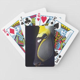 Orangespine Unicornfish, Naso lituratus Bicycle Playing Cards