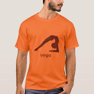 Oranget-shirt yoga pose T-Shirt