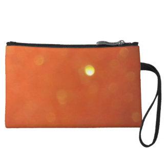 Orangey Clutch Bag Wristlet