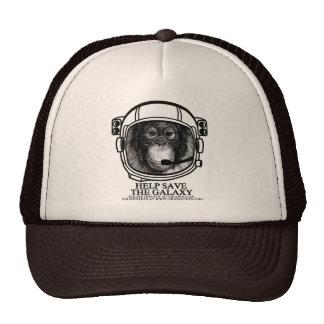 Orangutan Astronaut - Help Save the Galaxy Cap