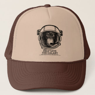 Orangutan Astronaut - Help Save the Galaxy Trucker Hat