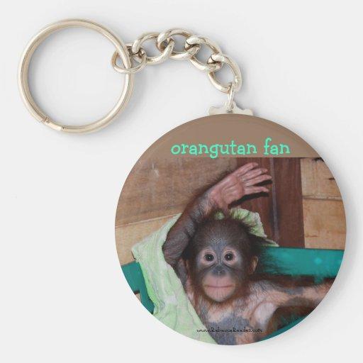 Orangutan at the Sanctuary Key Chains