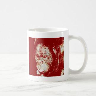 Orangutan Basic White Mug