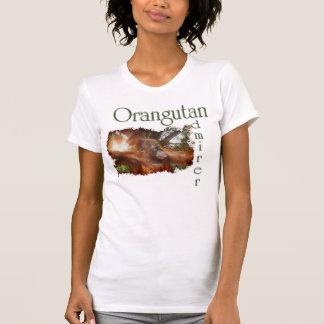 Orangutan & Borneo Jungle Wildlife-supporter Tee