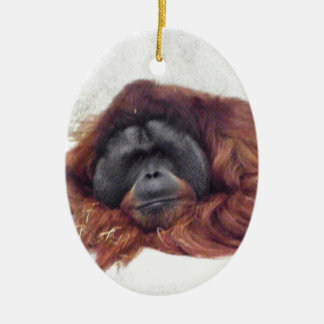 Orangutan Christmas Ornament