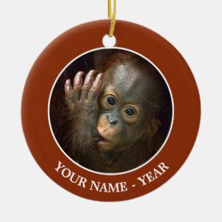 Orangutan Christmas Ornament