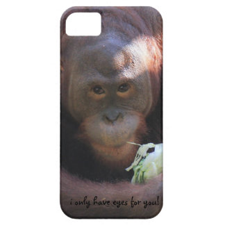 Orangutan closeup, i only have eyes for you! barely there iPhone 5 case