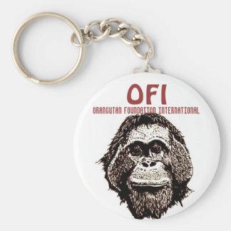 Orangutan Foundation International Key Ring