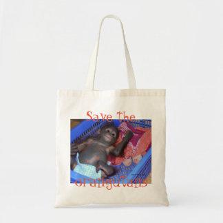 Orangutan Great Apes Tote Bag