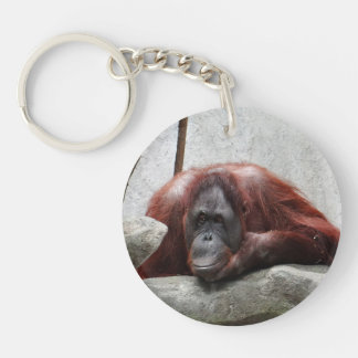 Orangutan Key Ring