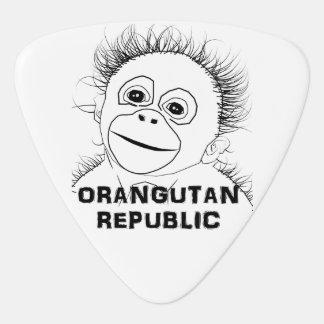 Orangutan Plectrum