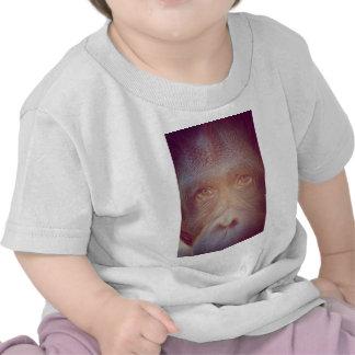 orangutan sad face t-shirts