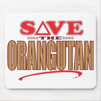 Orangutan Save Mouse Pad
