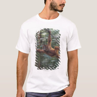 Orangutan Swinging on Liana 2 T-Shirt