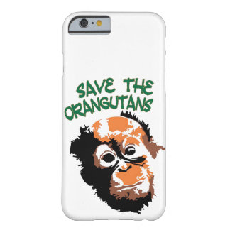 Orangutans Red Ape Wildlife Barely There iPhone 6 Case