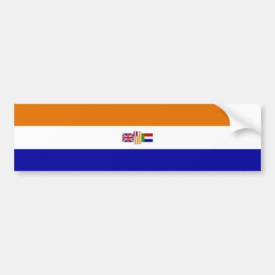 Oranje Blanje Blou Bumper Sticker
