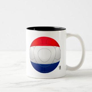 Oranje - Netherlands Football Two-Tone Coffee Mug