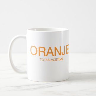 Oranje: Total Footbal Basic White Mug