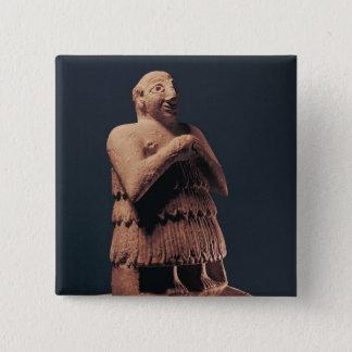 Orant, from Tello 15 Cm Square Badge