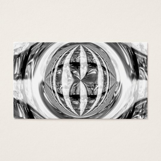 Orb Chrome business card