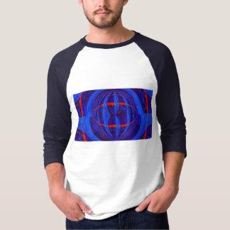 Orb Dark Blue t-shirt long sleeve raglan