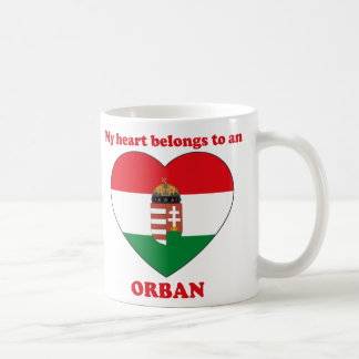 Orban Basic White Mug